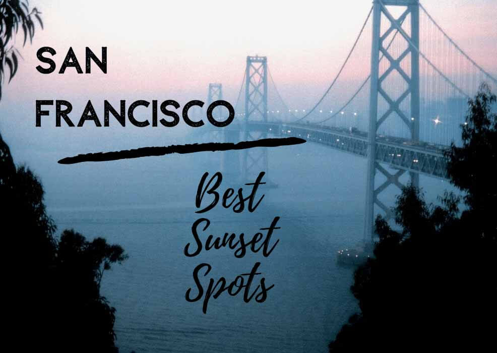 4 spots to watch the sunset in San Francisco